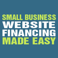smaill business website financing